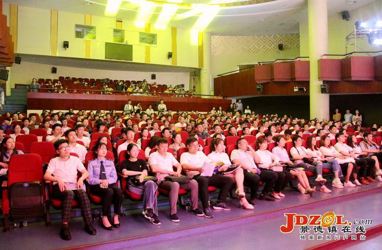 景德镇纪念五四运动一百周年汇报演出举行