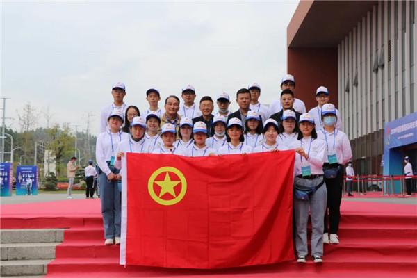 团市委组织青年志愿者热情服务2020瓷博会