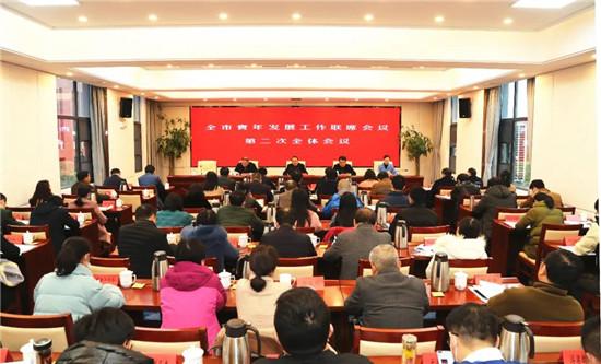 我市召开全市青年发展工作联席会议第二次全体会议